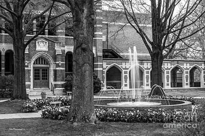 University Of Virginia Photograph - University Of Richmond Richmond Hall by University Icons