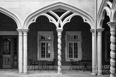 University Of Virginia Photograph - University Of Richmond Weinstein Courtyard by University Icons