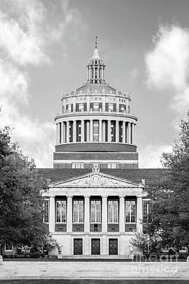 Rochester Photograph - University Of Rochester Rush Rhees Library by University Icons