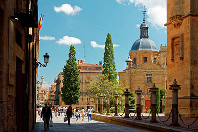 Photograph - University Of Salamanca by Sally Weigand
