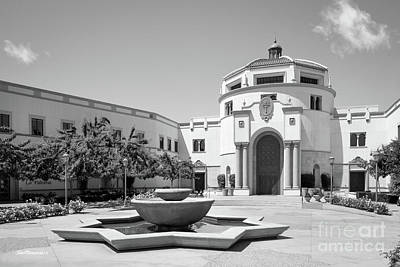 Missions San Diego Photograph - University Of San Diego Kroc School Of Peace by University Icons