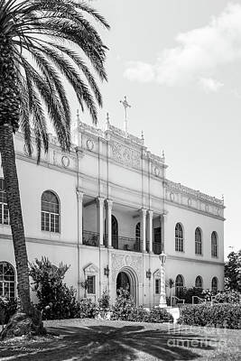 Missions San Diego Photograph - University Of San Diego Serra Hall by University Icons