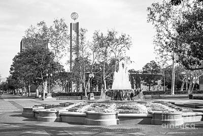 Diploma Photograph - University Of Southern California Alumni Park by University Icons