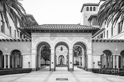 Cinematic Photograph - University Of Southern California Cinematic Arts by University Icons