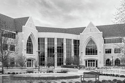 Photograph - University Of St. Thomas Anderson Student Center by University Icons