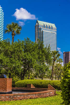 Photograph - University Of Tampa by Paula Porterfield-Izzo