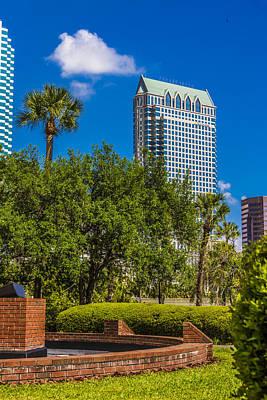 Photograph - University Of Tampa by Paula Porterfield-Izzo