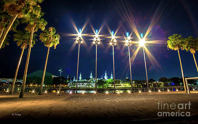 Photograph - University Of Tampa Seen From Downtown Tampa by Rene Triay Photography