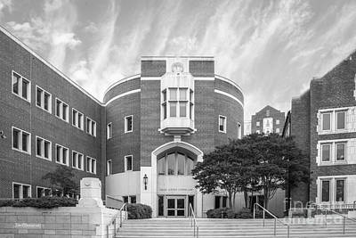 University Of Tennessee School Of Law Art Print by University Icons