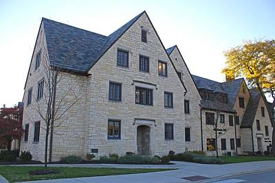 Photograph - University Of Toledo Mackinnon Hall by Michiale Schneider