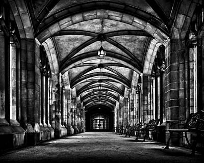 Photograph - University Of Toronto Knox College Cloister No 1 by Brian Carson