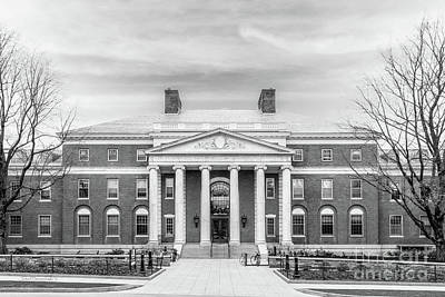 Diploma Photograph - University Of Vermont Waterman Building by University Icons