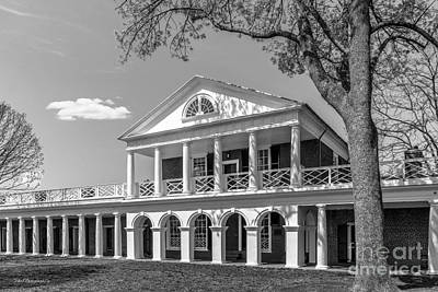 Charlottesville Photograph - University Of Virginia Academical Village Pavillion by University Icons