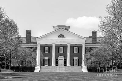 University Of Virginia Darden School Of Business Art Print by University Icons
