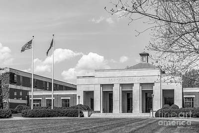 Special Occasion Photograph - University Of Virginia Law School by University Icons