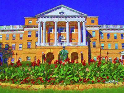 University Of Wisconsin  Art Print