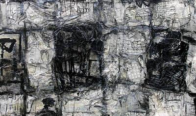 Unkempt Grid Art Print