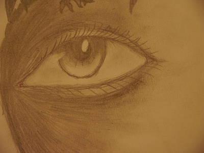 Joshua Massenburg Drawing - Unknown Eyes Of Judgment by Joshua Massenburg