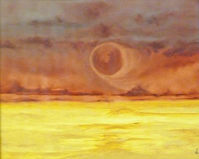 Unknown Planet Art Print by Cheryl Allin
