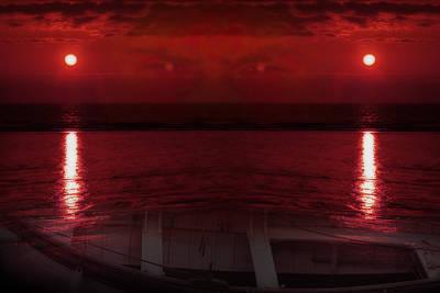 Spooky Digital Art - Unknown Planet by Svetlana Sewell