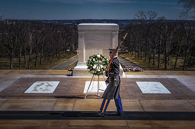 Photograph - Unknown Soldier by Maria Coulson