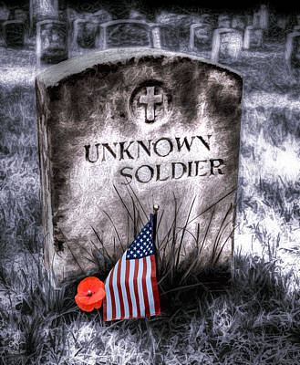 Photograph - Unknown Soldier by Pennie  McCracken