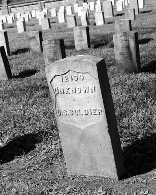 Photograph - Unknown U S Soldier by Beth Vincent