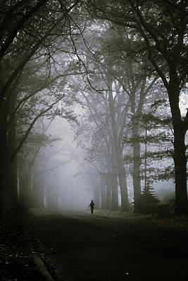 Atmospheric Photograph - Unknown Way by Cambion Art