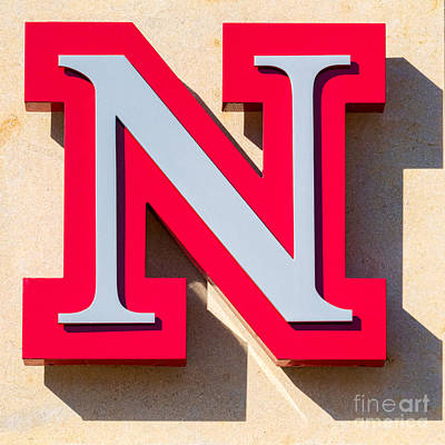 Johnny Carson Photograph - UNL by Jerry Fornarotto