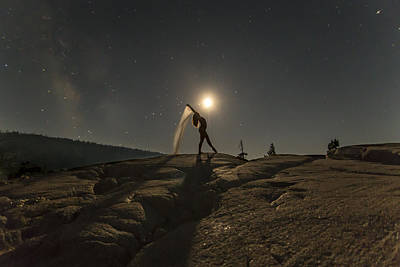 Full Moon Photograph - Unleash Your Potential by Jeremy Jensen