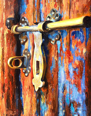 Painting - Unlocked by Denise H Cooperman