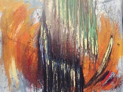 Brain Painting - Unlocking The Door by Edward Paul