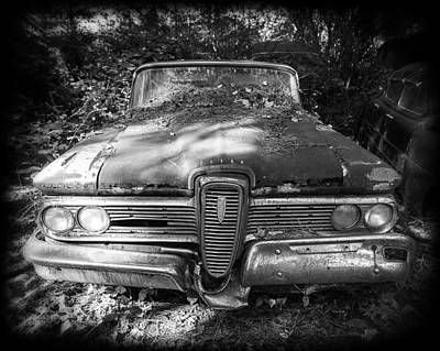 Photograph - Unloved Edsel by Alan Raasch