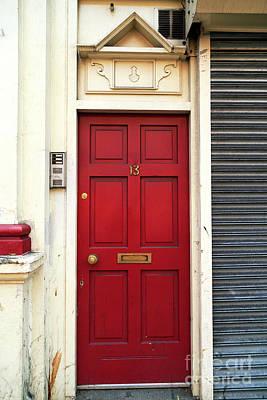 Photograph - Unlucky Door by John Rizzuto