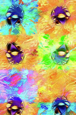 Digital Art - Unmasked by John Haldane