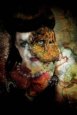 Digital Art - Unmasked by Sue Masterson