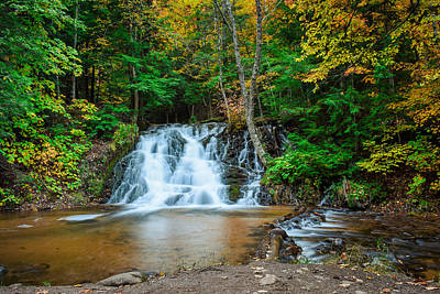 Photograph - Unnamed Falls by Jill Laudenslager