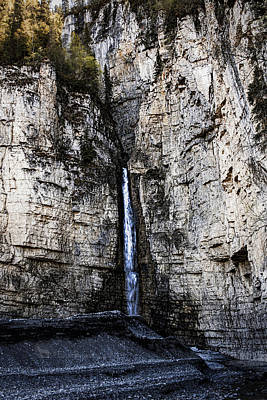 Photograph - Unnamed Waterfall by Fred Denner