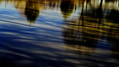 Photograph - Unnaturally Finished Natural Reflections  by Philip A Swiderski Jr