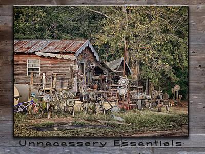 Photograph - Unnecessary Essentials by Charles McKelroy