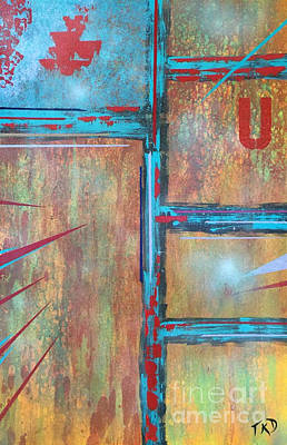Painting - Unoccupied  by Theresa Kennedy DuPay