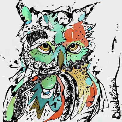 Unphased Art Print by Nicole Gaitan