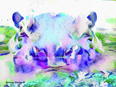 Unpredictable Art Print by Bunny Clarke