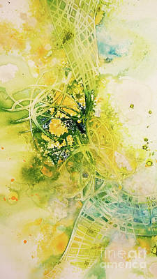 Painting - Unravel by Cecilia Swatton