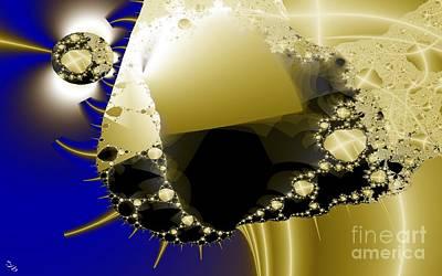 Digital Art - Unraveling by Ron Bissett