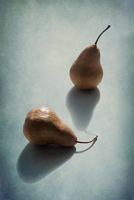 Pears Photograph - Unrequited by Maggie Terlecki