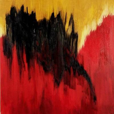 Disbelief Painting - Unresolved Angst by Gary E Mefford