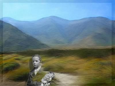 Desert Digital Art - Unresolved by Snake Jagger