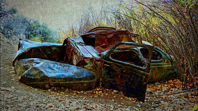 Photograph - Unsalvageable by Sandra Selle Rodriguez