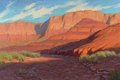 Arizona Painting - Unspoiled 18x24 by Cody DeLong